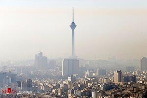 کیفیت هوای تهران ناسالم برای گروههای حساس