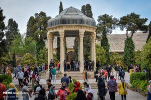 عکس/ نوروز شیراز در روزهای کرونایی