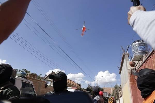 یک جان باخته در برخورد جت جنگنده بولیوی با ساختمان مسکونی
