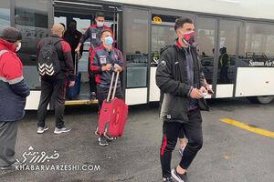جریمه سومین بازیکن پرسپولیس به دلیل رعایت نکردن قوانین کرونایی +عکس