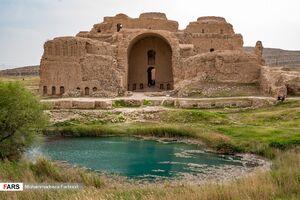 عکس/ کاخ ۱۸۰۰ ساله اردشیر بابکان