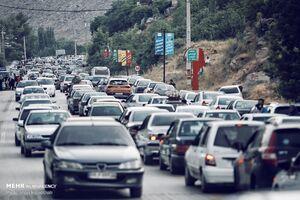 آخرین وضعیت ترافیکی در جاده چالوس