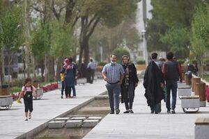 عکس/ بیتوجهی به پروتکلهای بهداشتی در اصفهان