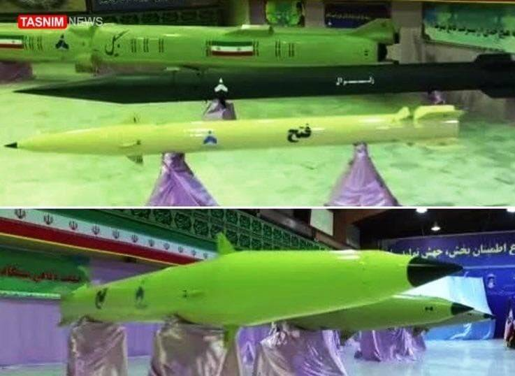 ورود موشک بالستیک به سازمان رزم نیروی دریایی سپاه