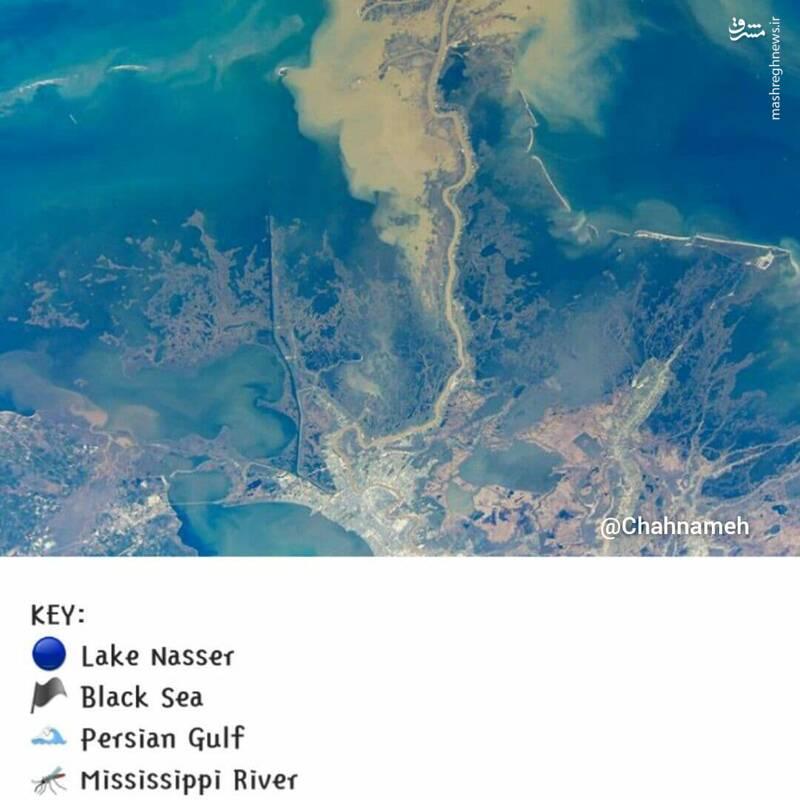وقتی حتی ناسا هم میدونه که باید بگه خلیج فارس