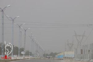 عکس/ گرد و غبار در آبادان