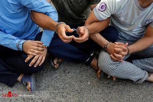 سارقان مغازههای جنوب تهران دستگیر شدند