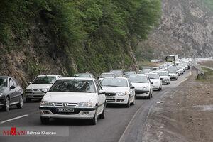 عکس/ ترافیک بازگشت از شمال