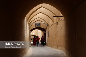 عکس/ مسافران نوروز ۱۴۰۰ در شهر تاریخی یزد