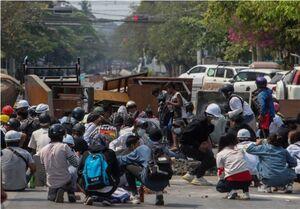 کشته شدن بیش از ۹۰ نفر در اعتراضات خونین میانمار