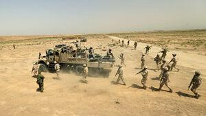 کشف انبار تسلیحاتی تروریست ها در سه استان عراق