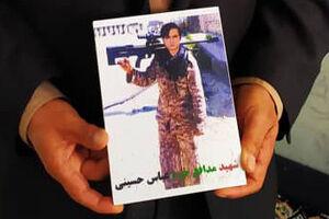 شهید مدافع حرم فاطمیون - شهید عباس حسینی - کراپشده