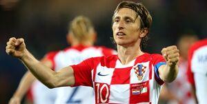 رکوردزنی مودریچ در تیم ملی کرواسی