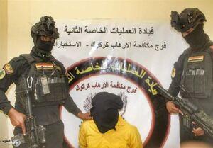 دستگیری یک تروریست داعشی در الانبار