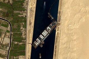 رئیسجمهور مصر پایان بحران کانال سوئز را اعلام کرد