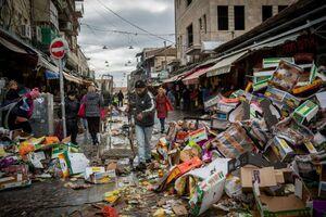 وقتی پاریسیها از زندگی در زبالهدان خسته میشوند +عکس