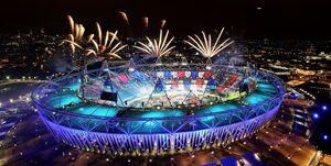 پربینندهترین المپیک در بخش افتتاحیه