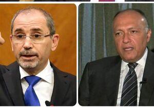 ورود وزیران خارجه مصر و اردن به بغداد