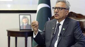 رئیس جمهوری پاکستان به کرونا مبتلا شد