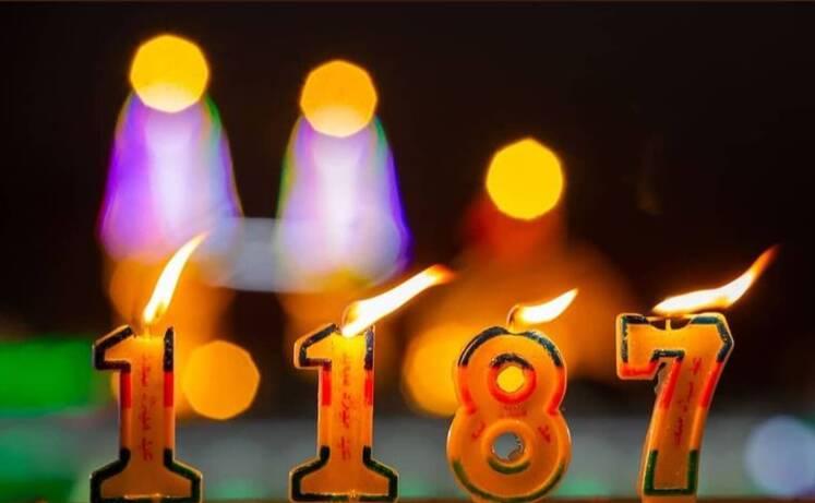 جشن تولد ۱۱۸۷ سالگی حضرت مهدی (عج) در کربلا +عکس و فیلم