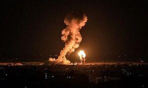 """عکس/ بقایای موشک شلیک شده به سمت """"دیمونا"""""""