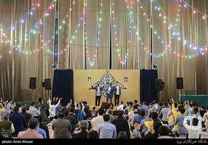 عکس/ جشن نیمه شعبان در هیئت مکتب الزهرا