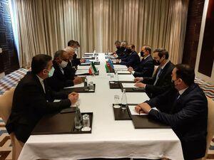 عکس/ دیدار ظریف با وزیر امور خارجه جمهوری آذربایجان