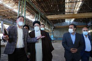 عکس/ بازدید رئیس قوه قضاییه از کارخانه ماشین سازی لرستان