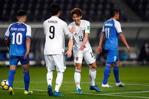پیروزی ۲ رقمی ژاپن در انتخابی جام جهانی ۲۰۲۲
