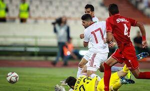 یک نیمه خوب و با انگیزه برای تیم ملی فوتبال ایران