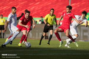 عکس/ دیدار تیمهای ملی فوتبال ایران و سوریه