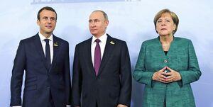 رایزنی سران فرانسه، آلمان و روسیه درباره بازگشت ایران به برجام