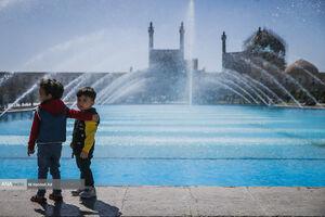 عکس/ کروناگردی مسافران در اصفهان نارنجی