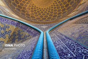 عکس/ تنها مسجد بدون مناره ایران