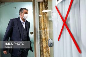 عکس/ حاشیههای جلسه هیات دولت ۱۱ فروردین