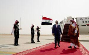 استقبال «بنسلمان» از  نخست وزیر عراق+عکس
