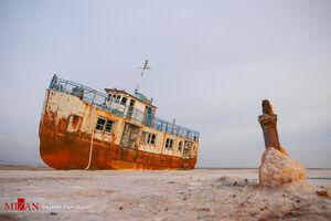 عکس/ اسکله ۱۰۰ ساله تال در ارومیه