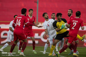 نقاط ضعف و قوت تیم ملی برابر سوریه