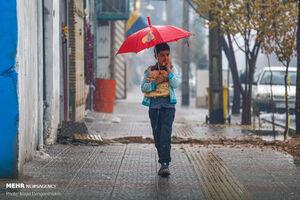 بارش باران برای ۱۷ استان در روز طبیعت