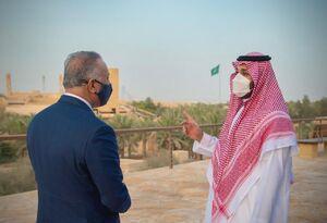 عکس/ دیدار مصطفی الکاظمی و بن سلمان