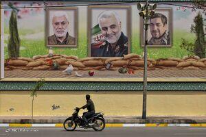 عکس/ دیوارنگارههای نوروزی کرمان را ببینید
