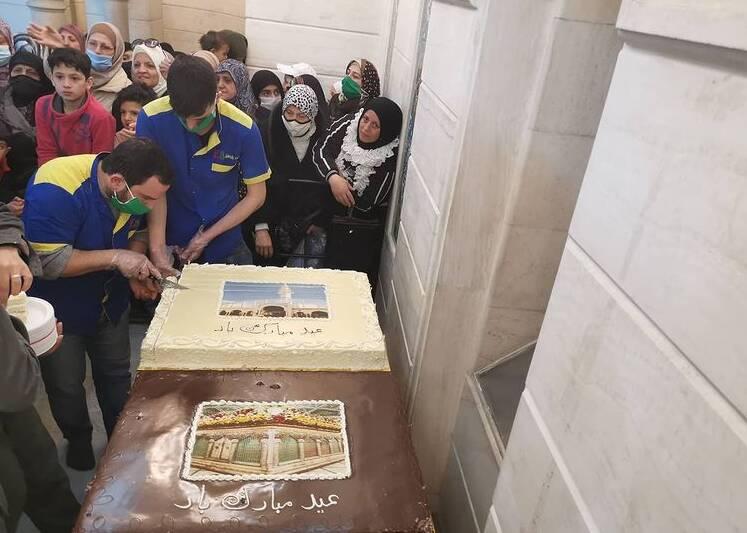 جشن میلاد حضرت رقیه (س) در سوریه +عکس