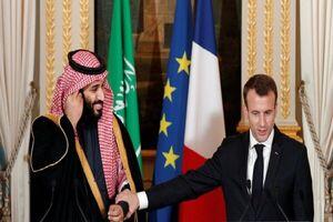 رایزنی رئیس جمهور فرانسه و ولیعهد عربستان درباره لبنان