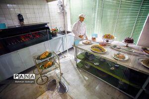 عکس/ آشپزخانه سلطنتی سعدآباد