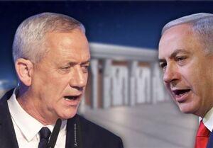 انتقاد شدید گانتس از نتانیاهو و هشدار درباره بروز جنگ داخلی در رژیم اسرائیل
