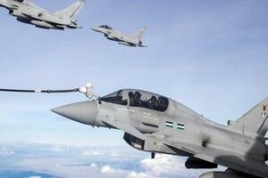 امضای توافقنامه همکاری میان نیروهای هوایی قطر و انگلیس - کراپشده