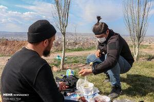 عکس/ ۱۳ بدر ۱۴۰۰ در تبریز