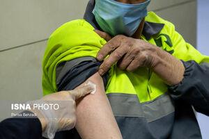 استفاده مدیران شهرداری از واکسن پاکبانها