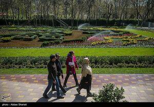 قدم زدن در باغ گل البرز