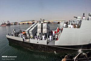 عکس/ ورود ناوگروه نیروی دریایی ارتش پاکستان به بندرعباس